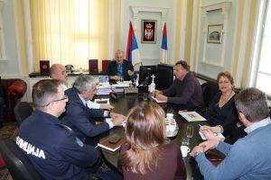 У Браничевском управном округу  заседао Окружни штаб за ванредне ситуације